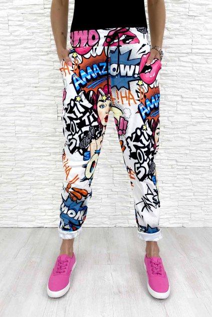 Damske kalhoty komiks