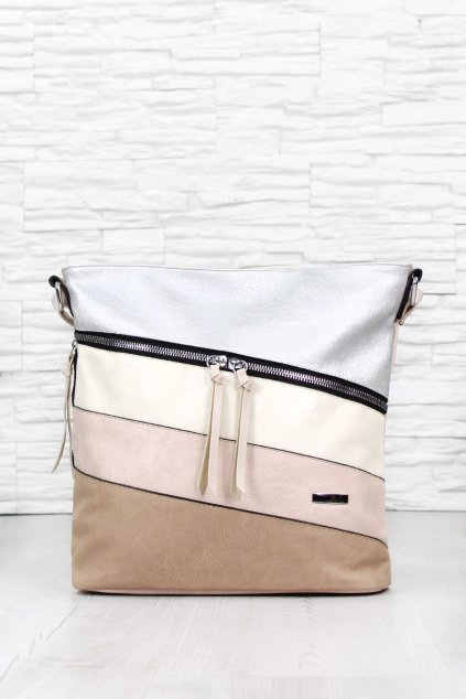 Béžová kabelka 2361APR (2)