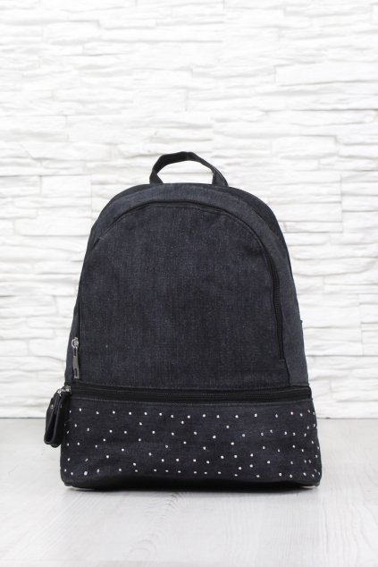 Černý batoh 9345B