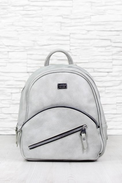 Dámská šedý batoh 5335.TS (1)