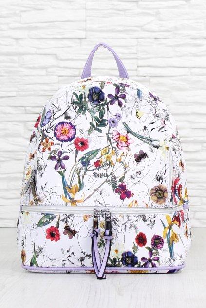 Květovaný batoh A173WH (1)