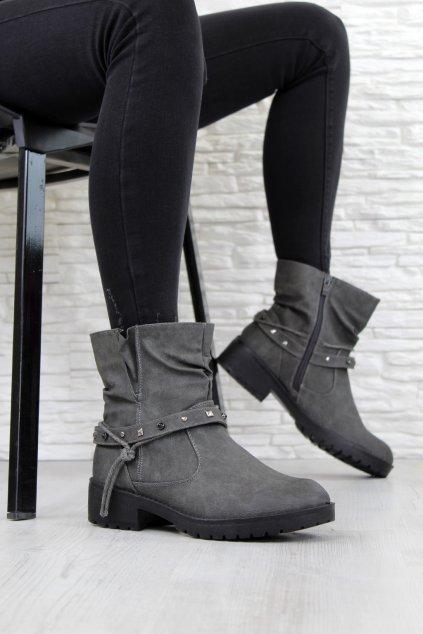 Kotníkové boty MD02G (2)