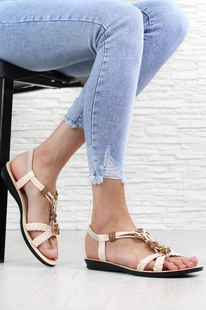 Dámské zdobené sandály 2917BE (1)