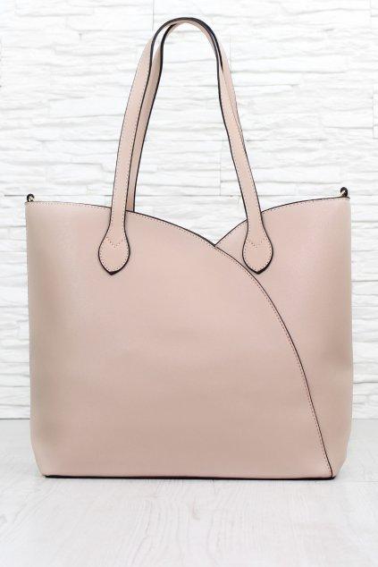 Elegantní kabelka 10 63TAN (1)