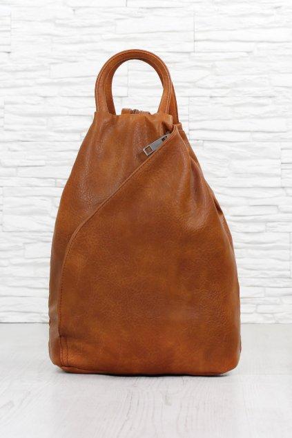Dámský hnědý batoh ZXJ803BR (1)