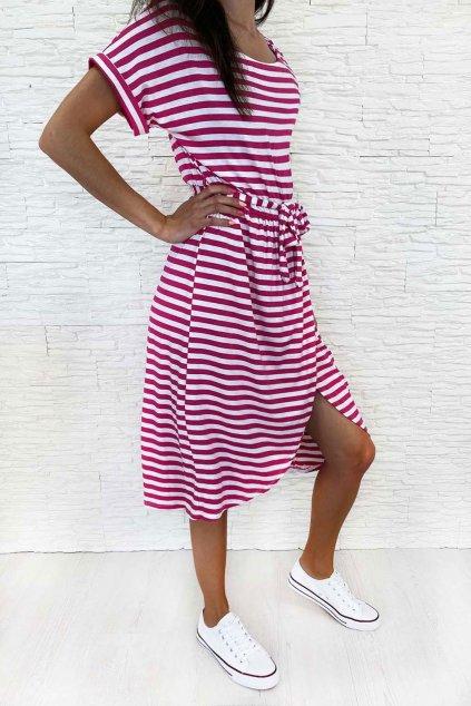 Pruhované šaty WH.FU