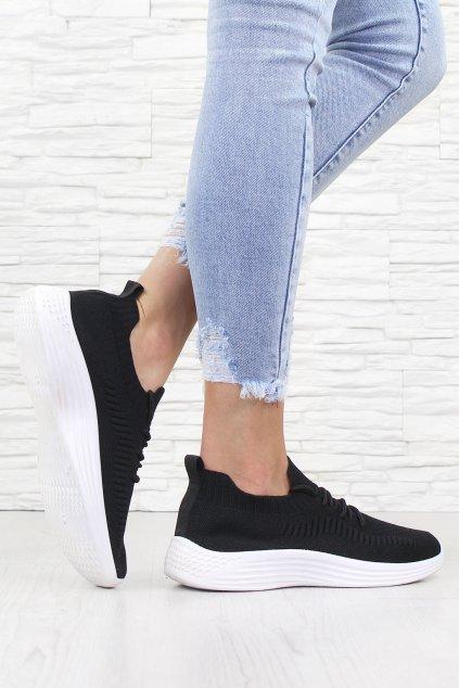 Ponožkové tenisky W802 1B (1)