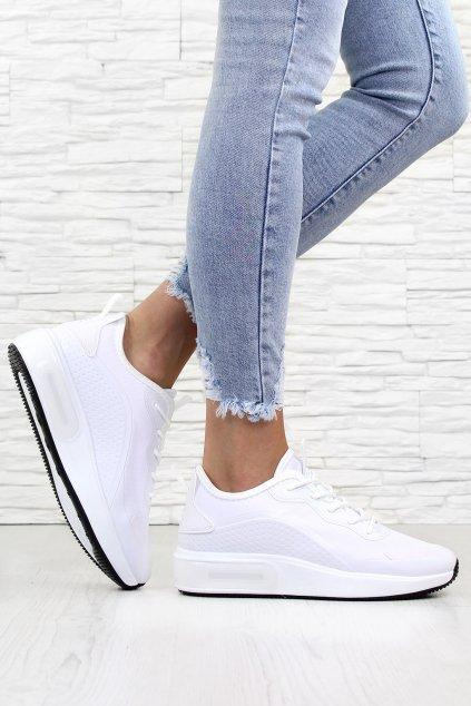 Bílé botasky J2142WH (1)