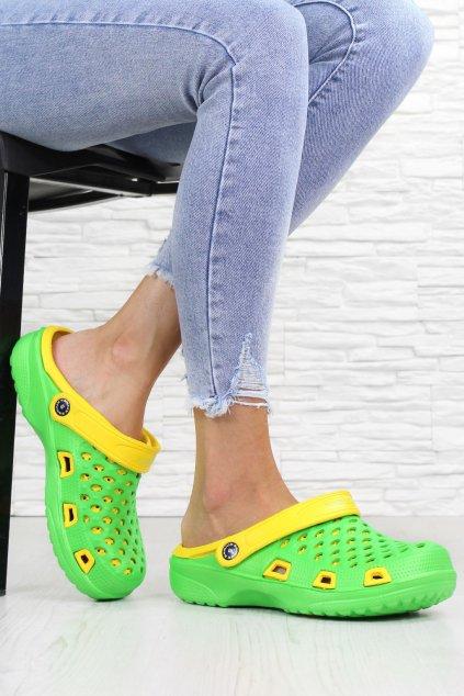 Gumové pantofle 369GR (1)
