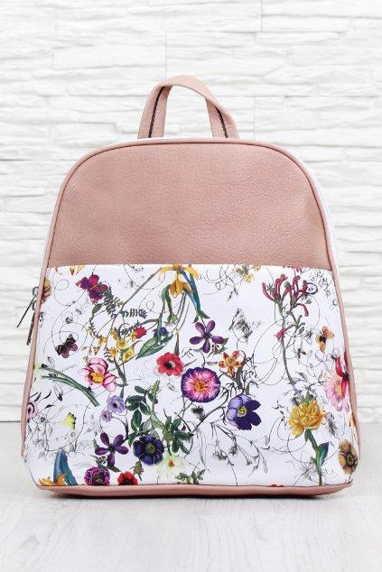 Květovaný batoh A 2338PI (1)