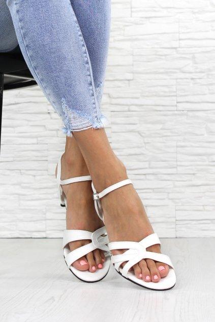 Sandály na podpatku 114WH (1)
