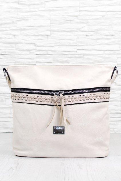 Dámská béžová kabelka 2375BE (3)