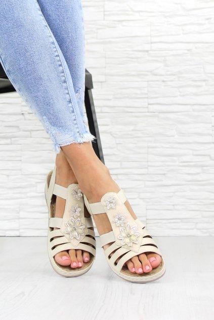 Zdobené sandály 6425 3BE (1)