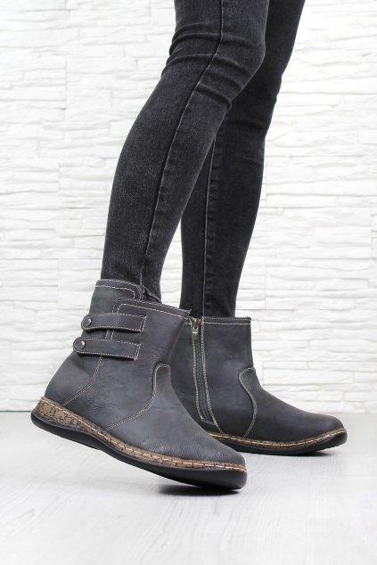 Dámské kotníkové boty 6459DK G (1)