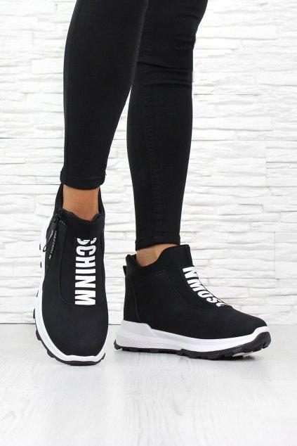 Zimní kotníkové boty 9104 1B WH (4)