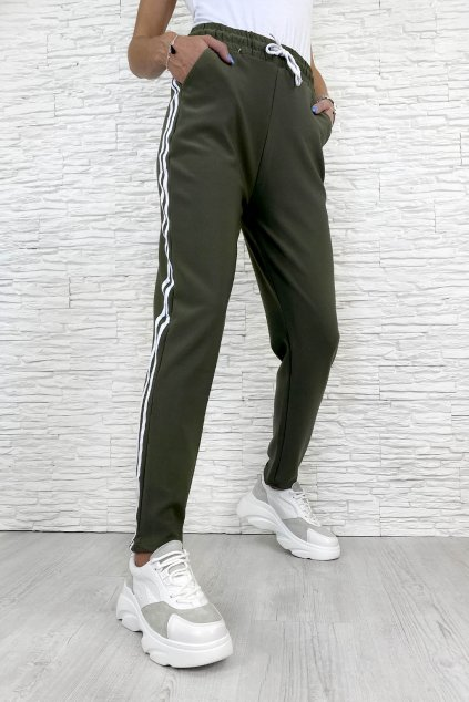 Khaki kalhoty