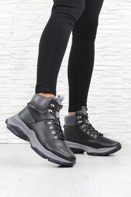 Dámské kotníkové boty DS13001B (1)