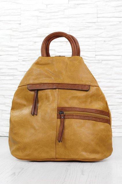 Dámský žlutý batoh 7179YE (1)