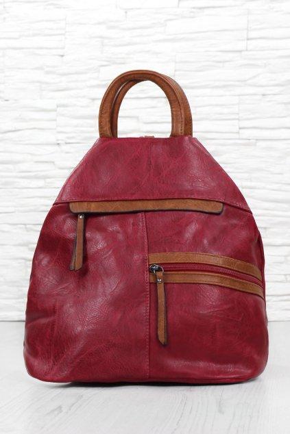 Červený batoh přes rameno 7179R (1)