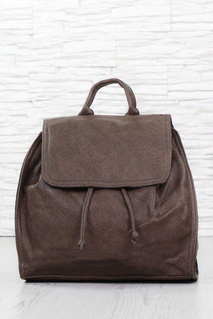 Dámský hnědý batoh 2268BR (1)