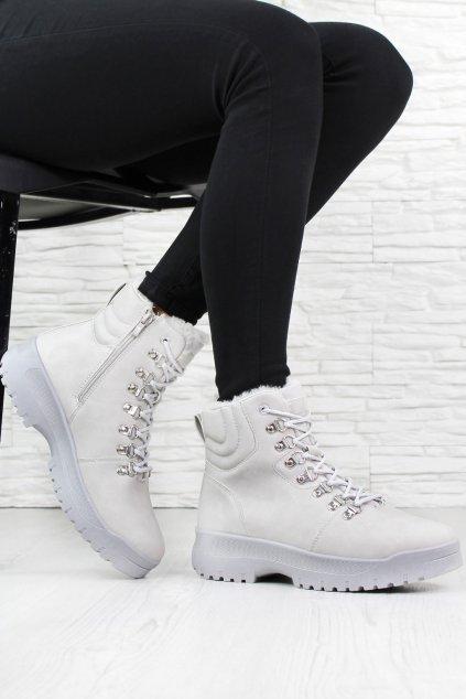 Šněrovací dámské boty 3306 4L G (4)