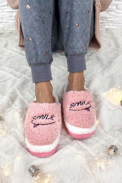 ruzove pantofle