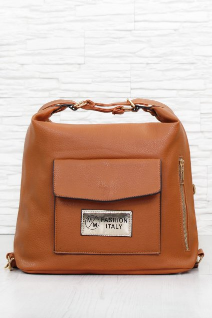 Dámský hnědý batoh TB 424BR (1)