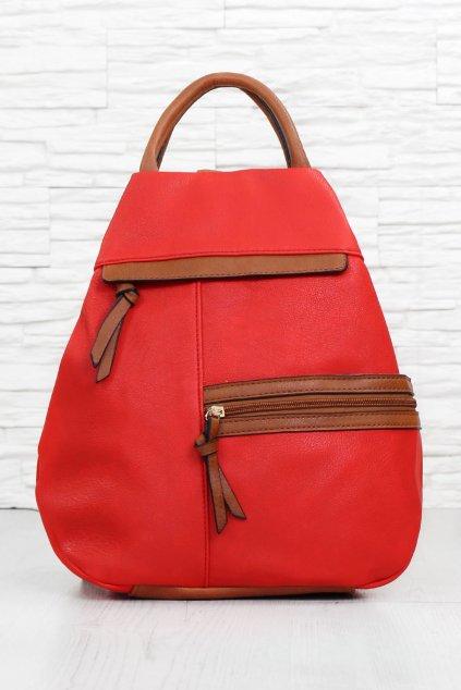 Červený batoh A521 2R (1)
