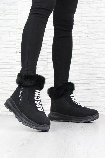 Zateplené kotníkové boty 9101 21ALL B (1)