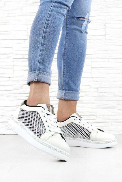 Bílé botasky 7 K682A.WH (2)