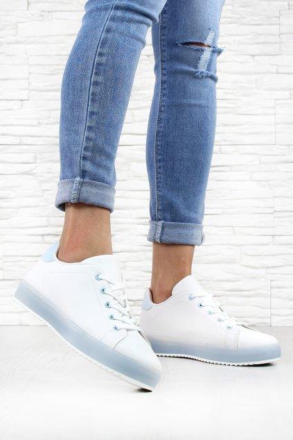 Bílé botasky H913 3WH bl (2)