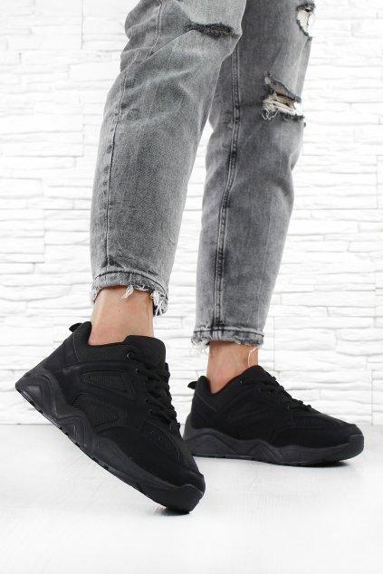 Black sneakers DS11905B (3)
