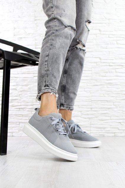 Šedé sneakers LV82 5G (1)
