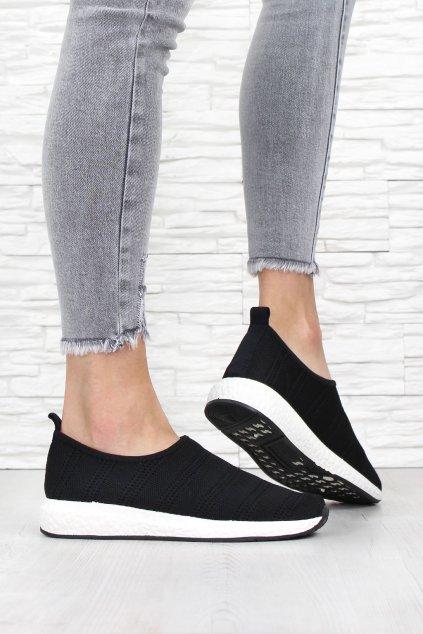 Černé ponožkové boty NB268 1B (3)