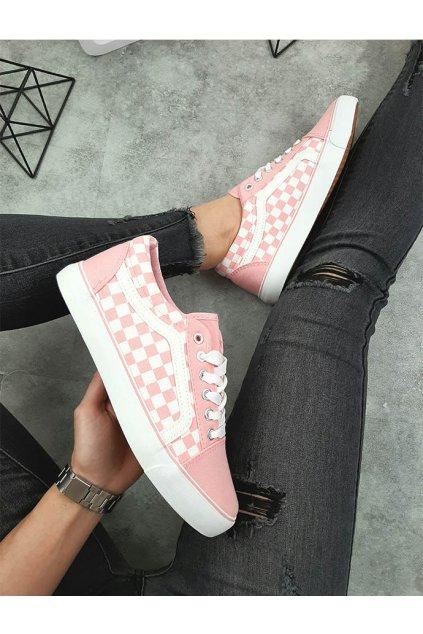 BL146P PINK Růžové tenisky (5)