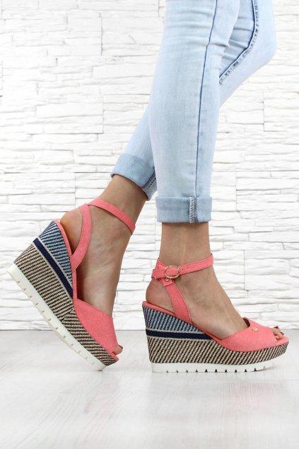 Sandály na platformě 6107 20PI (2)