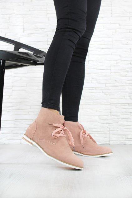 Jarní kotníkové boty 6543PI