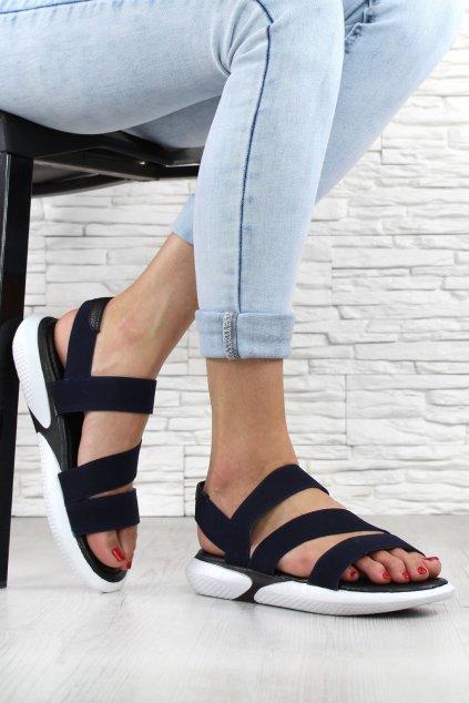 Tmavě modré sandále 8 L8951C (1)