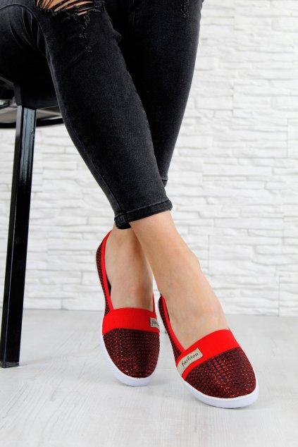 ST8814R Červené baleríny (1)
