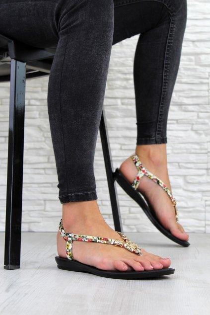 Květinové sandály GS1028BE (1)