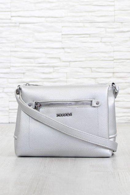Stříbrná crossbody kabelka 3649 TS (1)