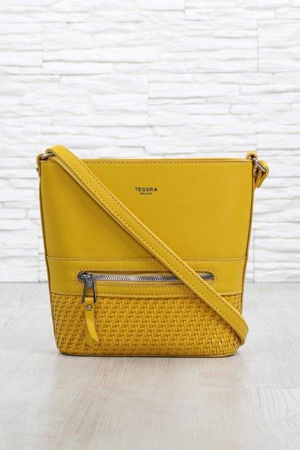 Žlutá crossbody kabelka 5521 TS (1)