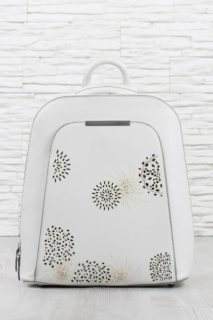 Bílý batoh 5474 BB (2)