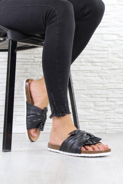 Černé pantofle 2004B (3)