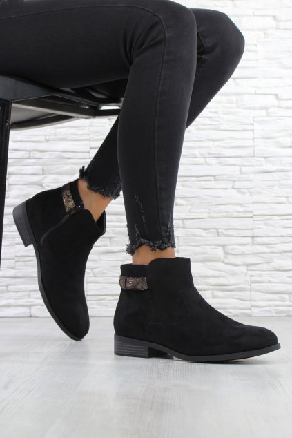 Dámské černé boty 901B (2)