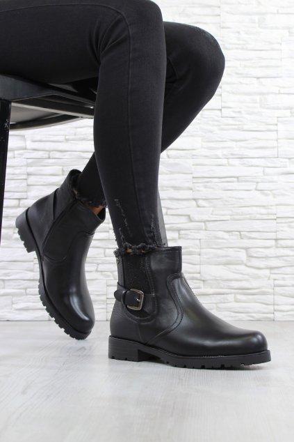 Kotníkové boty s přezkou SG 327B (3)