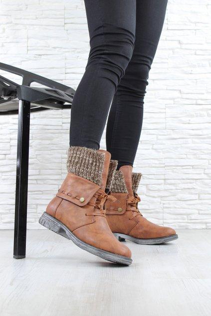Kotníkové boty 2080BR (2)
