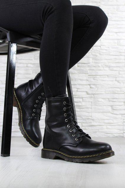 Dámské kotníkové boty W143 1B (2)