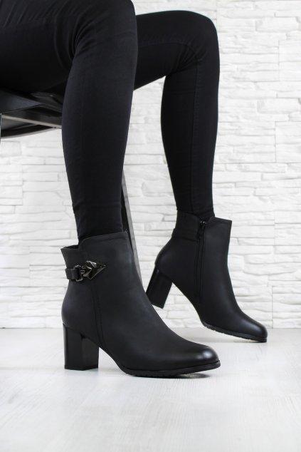 Dámské boty na podpatku 2063 1B (1)