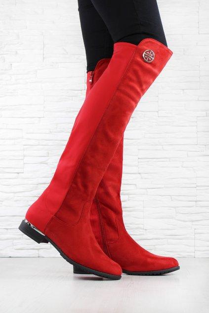 Červené kozačky HX5037-83R